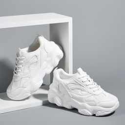 Minimalist Chunky Sneakers   SHEIN