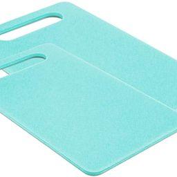GreenLife 2-Piece Cutting Board Set, Medium & Large, 2pc, Turqouise | Amazon (US)
