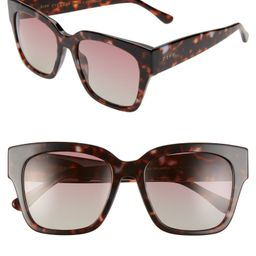 Bella II 55mm Polarized Square Cat Eye Sunglasses | Nordstrom