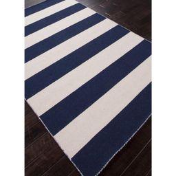 Jaipur Pura Vida Tierra Flat Weave Stripe Pattern Wool Handmade Rug | Walmart (US)