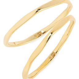 Delicate Collection Demi-Fine Skinny Ring Set | Nordstrom