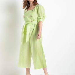 Double Breasted Jumpsuit | Women's Plus Size Dresses | ELOQUII | Eloquii