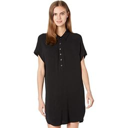 Chaser Heirloom Wovens Rolled Short Sleeve Button-Down Mini Dress   Zappos