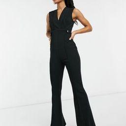 Girl In Mind wide leg jumpsuit in black   ASOS (Global)