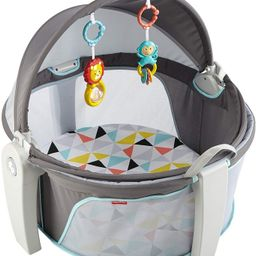 Fisher-Price On-the-Go Baby Dome, Grey/Blue/Yellow/White | Amazon (US)