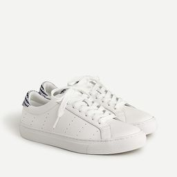 Saturday sneakers with gingham detail   J.Crew US
