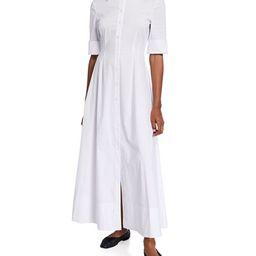 Joan Poplin Maxi Shirtdress   Neiman Marcus