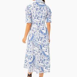 China Blue Porcelain Dress | Tuckernuck (US)