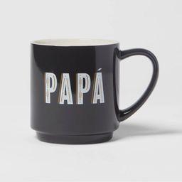 16oz Stoneware Papa Mug - Room Essentials™   Target