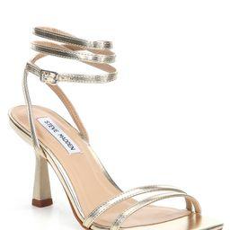 Kyrah Metallic Ankle Wrap Dress Sandals | Dillards