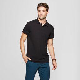 Men's Standard Fit Short Sleeve Loring Polo T-Shirt - Goodfellow & Co™   Target
