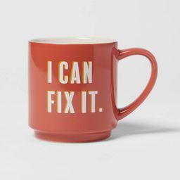 16oz Stoneware I Can Fix It Mug - Room Essentials™   Target