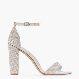 Lorelai Block Heeled Sandal   JustFab