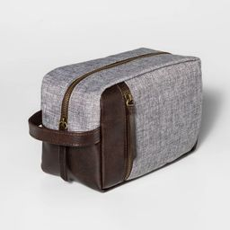 Men's Large Zipper Dopp Kit - Goodfellow & Co™ | Target