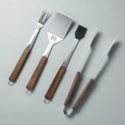 4pc Grill Tool Set - Hearth & Hand™ with Magnolia | Target