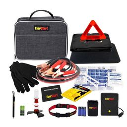 EverStart Roadside Safety Kit for Cars, with Booster Cables and Tire Inflator | Walmart (US)