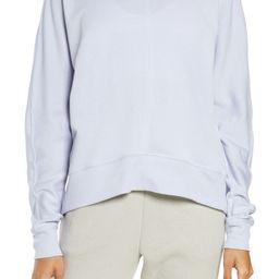 Carey Crew High/Low Sweatshirt | Nordstrom