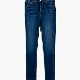 Curvy High-Rise Skinny Jeans in Sussex Wash: TENCEL™ Denim Edition   Madewell