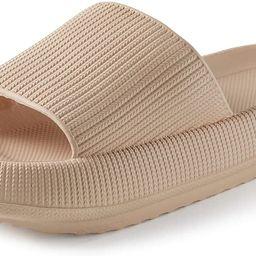 Pillow Slides Slippers Women Men Bath Shower Shoes Soft Quick Drying Non-Slip | Amazon (US)