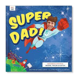 Gift for Dad from Kids, Fathers Day Gift, Personalized Book, Dad Birthday Gift | Amazon (US)