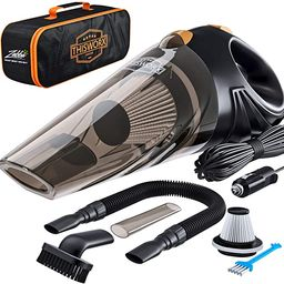 ThisWorx Car Vacuum Cleaner - Portable, High Power, Handheld Vacuums w/ 3 Attachments, 16 Ft Cord... | Amazon (US)