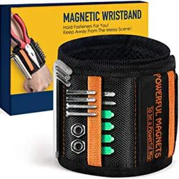 Gifts for Men on Fathers Day Dad Gifts from Wife Daughter Kid, Magnetic Wristband for Holding Scr... | Amazon (US)