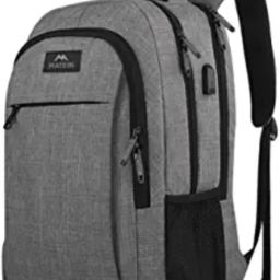 Matein Travel Laptop Backpack, Business Anti Theft Slim Durable Laptops Backpack with USB Chargin... | Amazon (US)