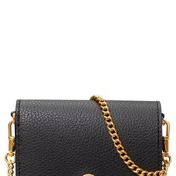 Tory Burch Nano Walker Leather Wallet on a Chain | Nordstrom | Nordstrom