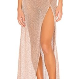 This skirt is beautiful! Very good quality, but it is more of a rose gold color rather than the g... | Revolve Clothing (Global)