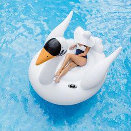 Intex Inflatable Mega Swan Floating Island, Ages 14+ | Walmart (US)