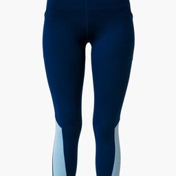 Navy and Breezy Blue High Rise Compression Legging | Tuckernuck (US)