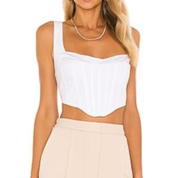 Amazing top and fit. Runs a little big so I had to order a size down. But great top, very flatter...   Revolve Clothing (Global)