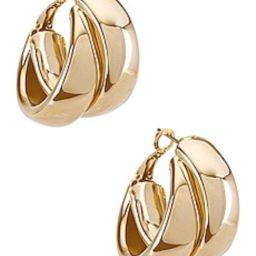 Literally my new favorite earrings! I am obsessed with these! I wear them all the time! | Revolve Clothing (Global)