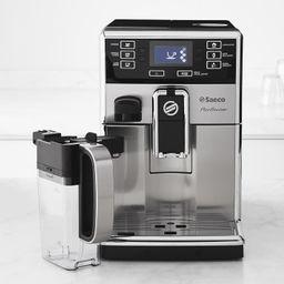 Saeco PicoBaristo Fully Automatic Stainless Steel Espresso Machine with Milk Carafe   Williams-Sonoma