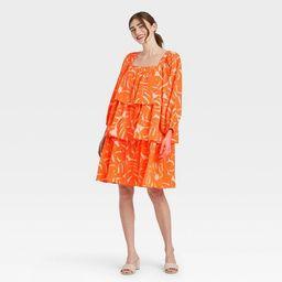 Women's Balloon Long Sleeve Dress - Who What Wear™ | Target