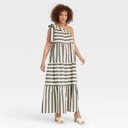 Women's One Shoulder Sleeveless Dress - Who What Wear™ | Target