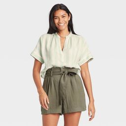 Women's Short Sleeve Top - A New Day™ | Target