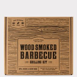 Wood Smoked Barbecue Kit   Cooking Gift Set Co.