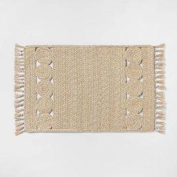 "34"" x 20"" Ornate Braided Rug - Opalhouse™ | Target"
