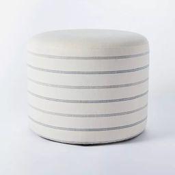 Lynwood Upholstered Round Cube - Threshold™ designed with Studio McGee | Target