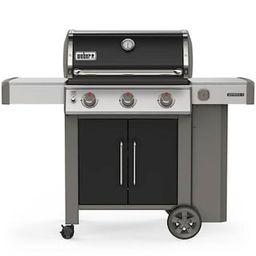 Weber Genesis II E-315 3-Burner Propane Gas Grill in Black-61015001 - The Home Depot   The Home Depot