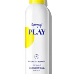 PLAY Antioxidant Body Mist SPF 50 with Vitamin C   Supergoop