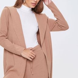 Open-Front Hooded Jacket   Forever 21 (US)