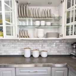 Textured Stoneware Kitchen Canisters w/ Wood Tops - White | West Elm (US)