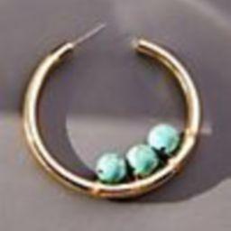 Embellished Hoop Earrings | Anthropologie (US)