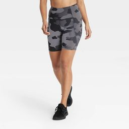 """Women's Sculpted Linear High-Waisted Bike Shorts 7"""" - All in Motion™ 