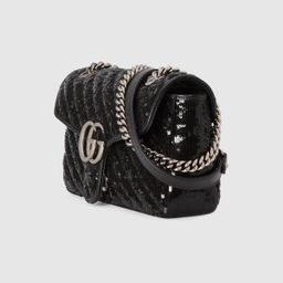 GG Marmont small sequin shoulder bag   Gucci (US)