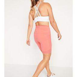 High-Waisted Elevate Side-Pocket Bermuda Biker Shorts for Women -- 8-inch inseam | Old Navy (US)