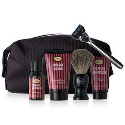 The Men's 6-Pc. Travel Kit with Morris Park Razor, Sandalwood | Macys (US)