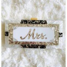 Acrylic Clutch Box Pearl Mrs Bride Bridal Shower Wedding | Etsy (US)